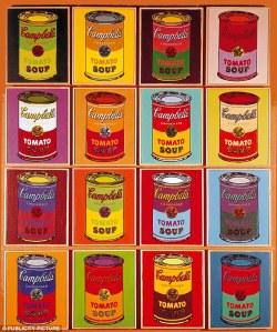 latas pintura andy campbells