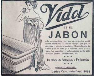 jabon vidal