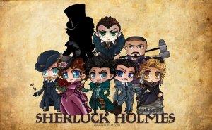 Sherlock holmes caricaturas