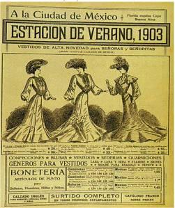 vestidos mexico 1903
